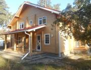 Дом из клееного бруса пл.150 м.кв