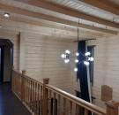Дом из клееного бруса пл.196 м.кв. в Буковеле