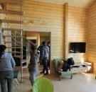 Дом из клееного бруса пл. 90 м.кв.