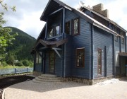 Дом из клееного бруса пл.120 м.кв.